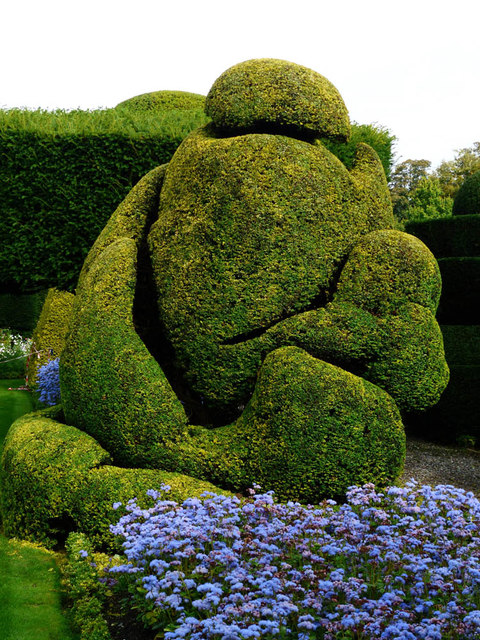 Topiary, Levens Hall