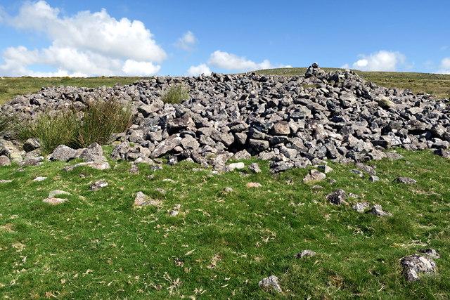 Cairn on the Hillside
