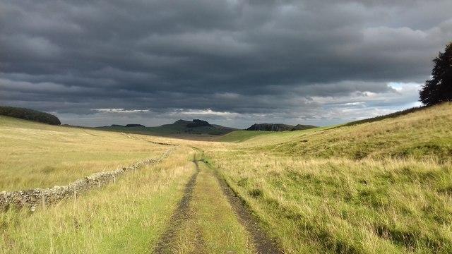 Heading towards Peatrigg