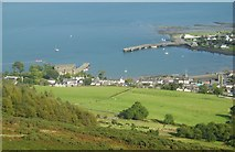 J1811 : Carlingford Harbour from Carlingford Mountain by Eric Jones