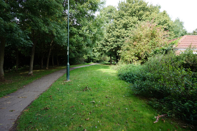 Bridleway towards Pelham Road