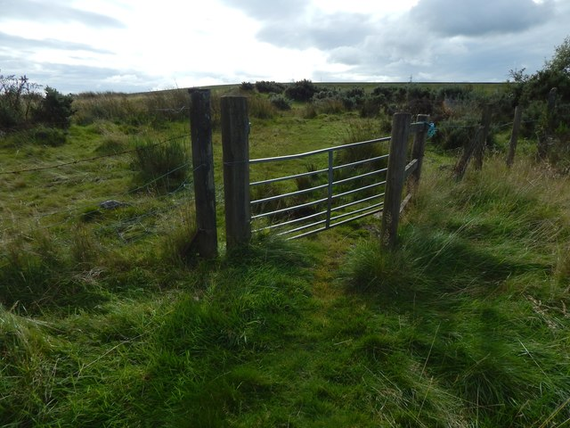 Gate near Witches' Corner