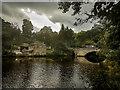 SK2475 : River Derwent, Calver by Brian Deegan