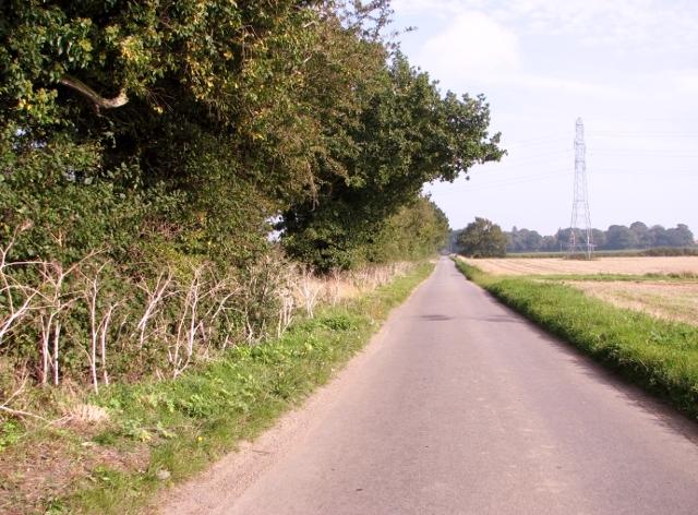 View along Yarmouth Road