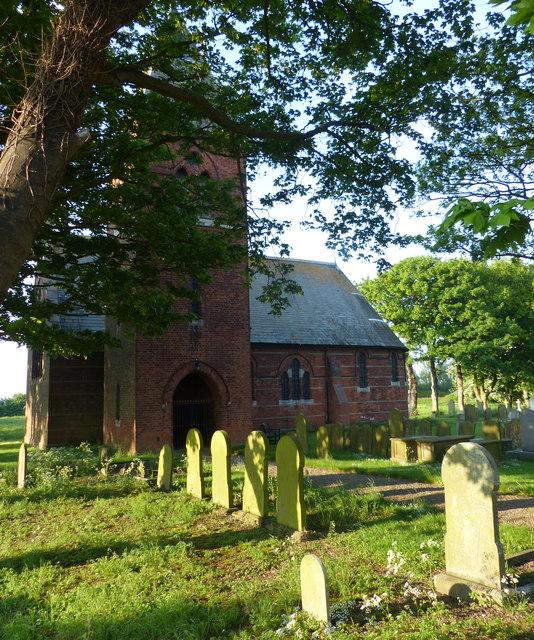 Holy Trinity Church at Sunk Island