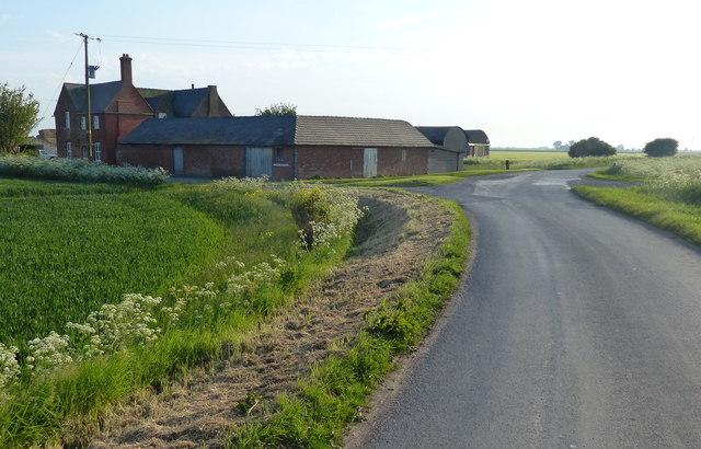Crown Farm at Sunk Island