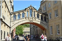 SP5106 : The Bridge of Sighs by N Chadwick