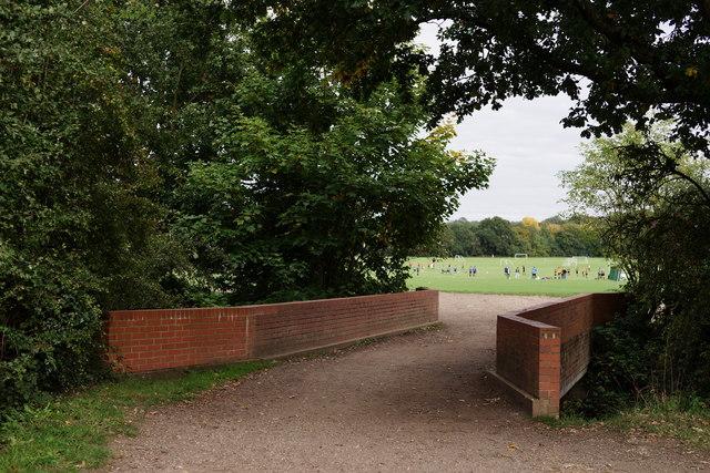 Bridge Over Beverley Brook