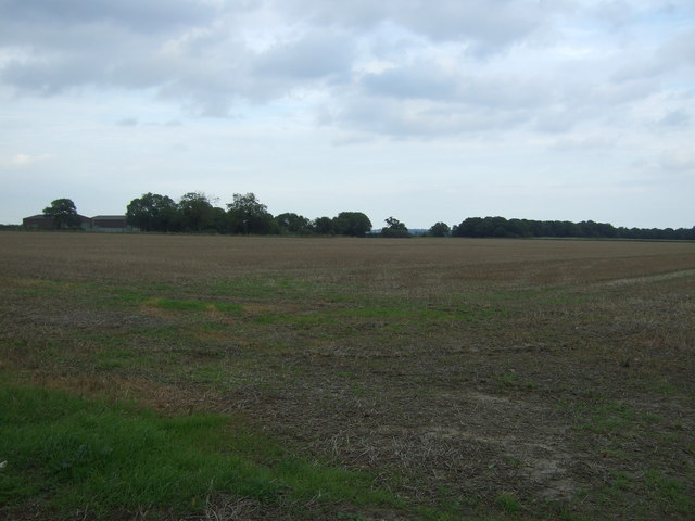 Stubble field off Yarmouth Road (A143)