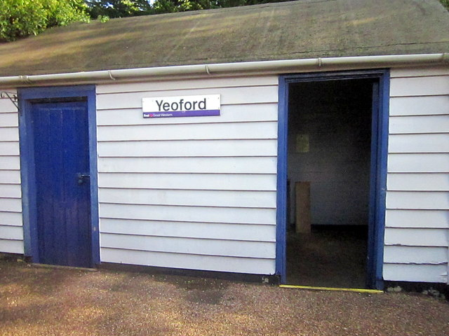Yeoford Station Waiting Room