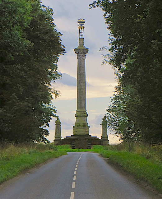 Monument to the 7th Earl of Carlisle