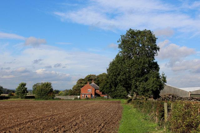Approaching Church Hill Farm