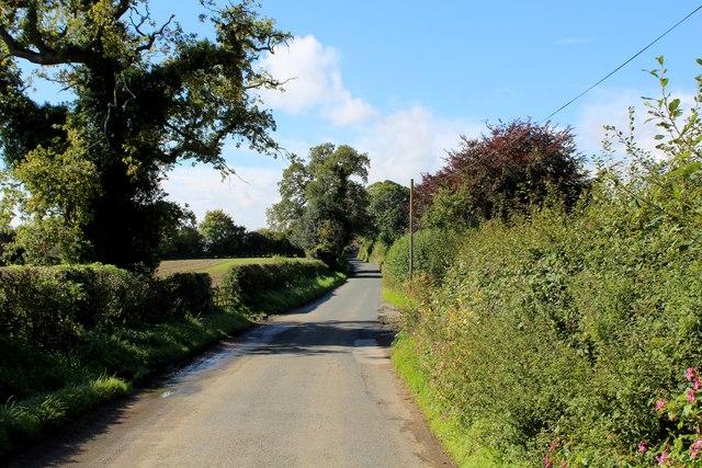 York Road heading West towards Healaugh