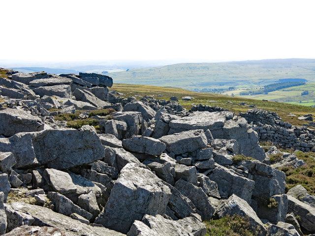 Rock outcrop on Monk's Moor (2)