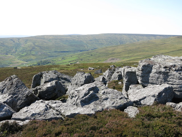 Rock outcrop south of Monk's Currick (2)