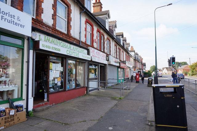 Shops on Pelham Road, Immingham
