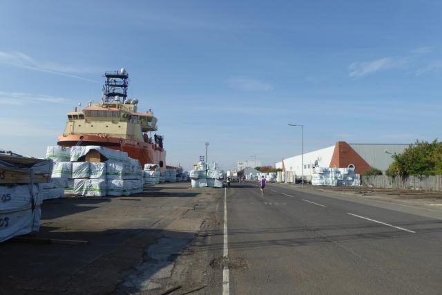 Ship in the Albert Dock