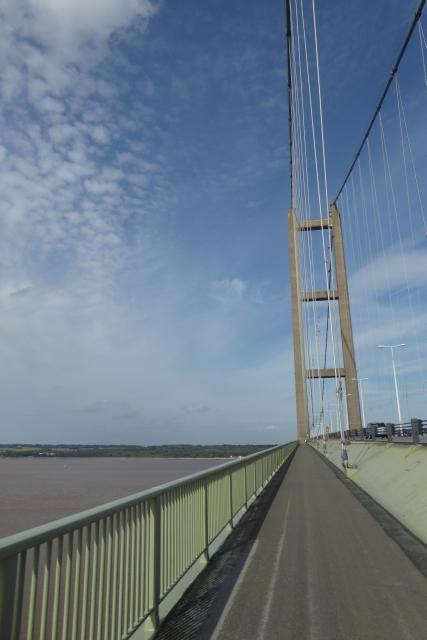 Looking north across the bridge