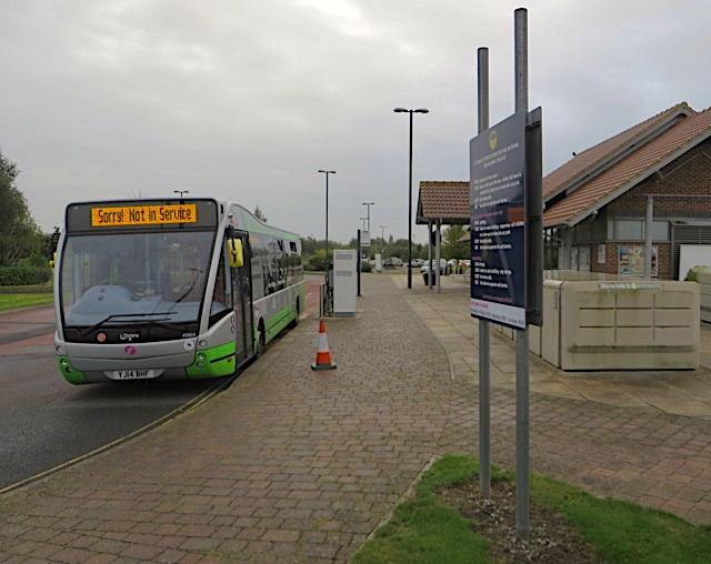 Monks Cross park and ride, York
