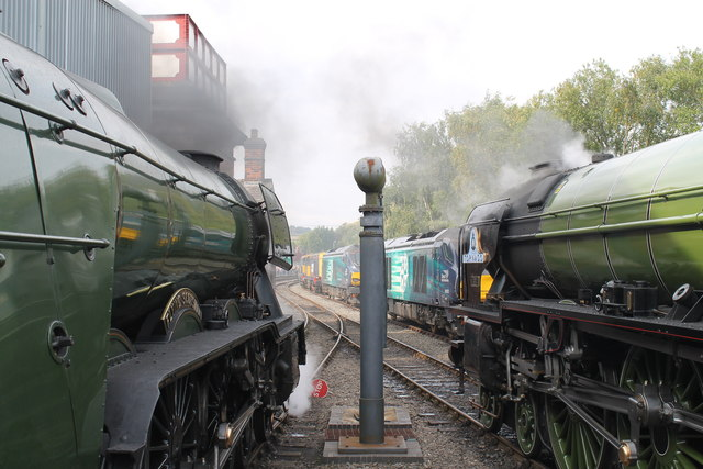 The 'Flying Scotsman' and 'Tornado'