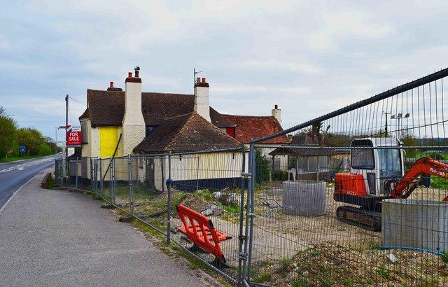 The former Rising Sun (3), Bath Road, Woolhampton, Berks