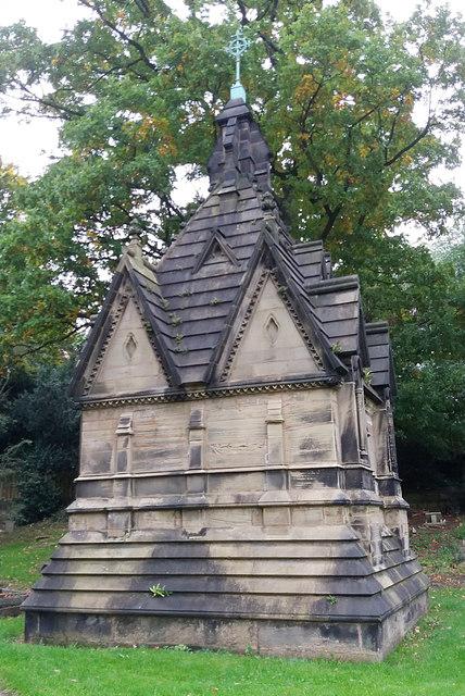 Beckett mausoleum, Holy Trinity church, Meanwood
