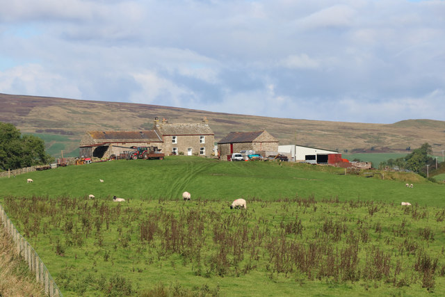 Lintley from the South Tynedale Railway