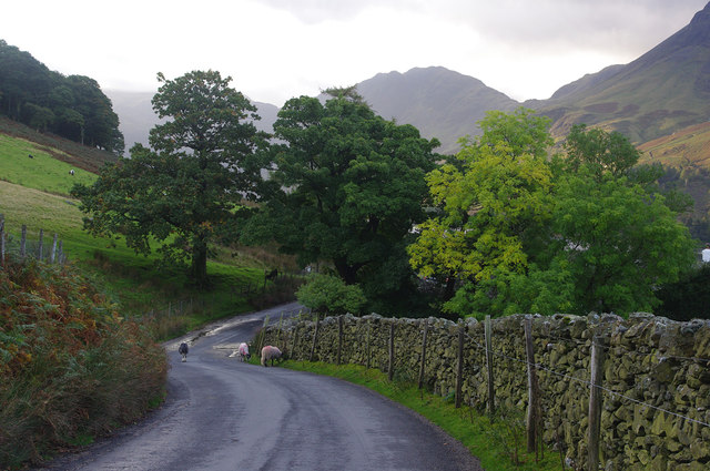 Road to Honister, Buttermere