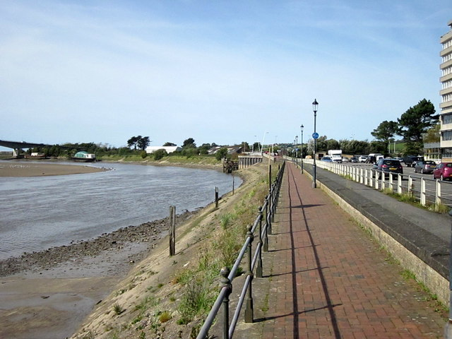 South West Coastal Path Alongside The Taw Barnstaple