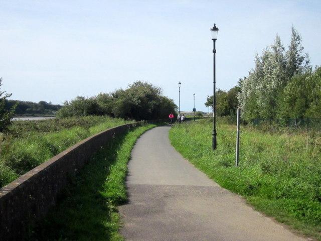 South West Coastal Path Leaving Barnstaple