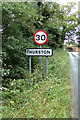 TL9164 : Thurston Village Name sign on New Road by Geographer