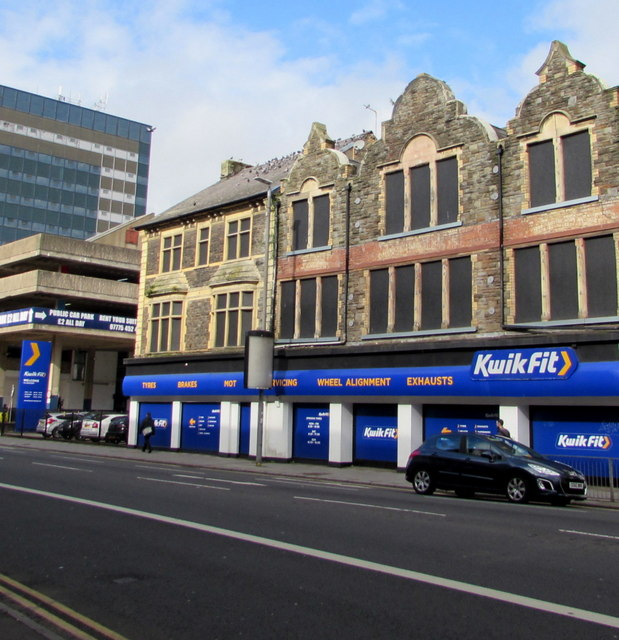 Kwik Fit, Clarence Place, Newport