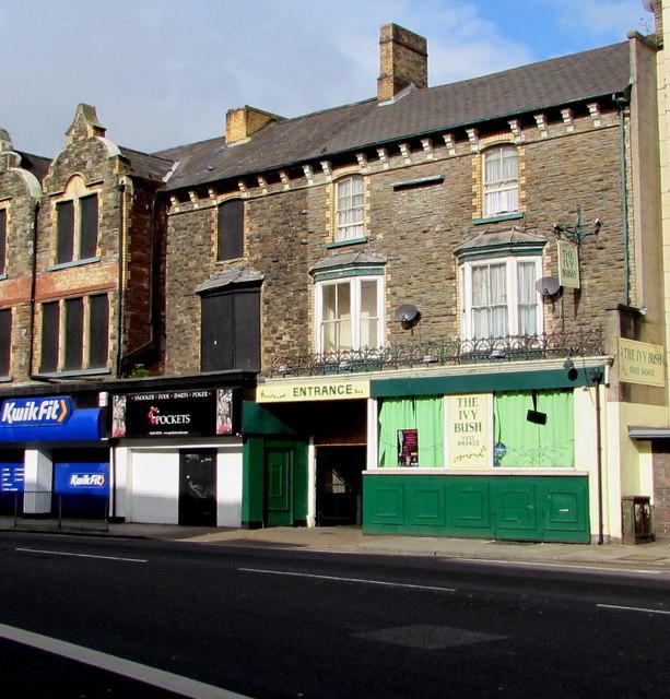 Ivy Bush pub, Clarence Place, Newport