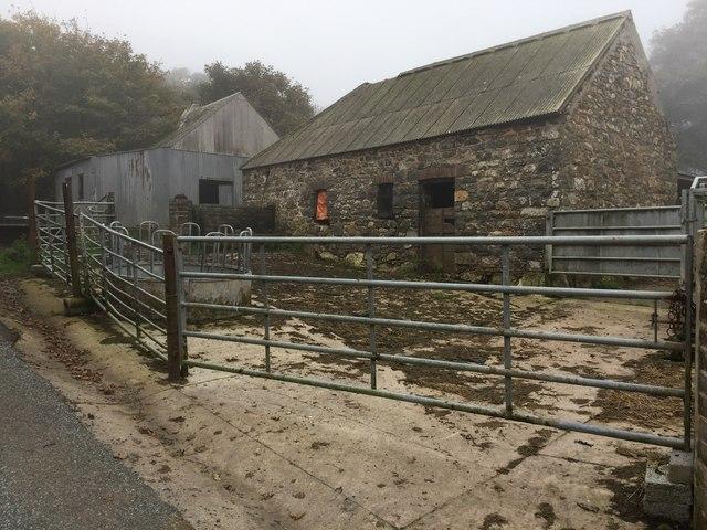 Farmyard at Caerlem