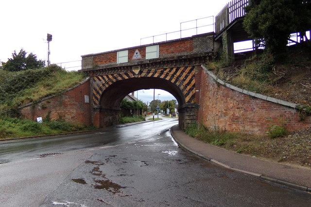 Thurston Station Bridge on New Road