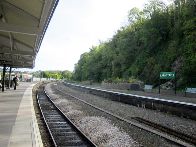 Barnstaple Station Platforms