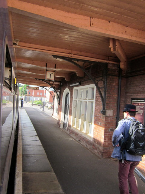 Crediton Station Platform 1