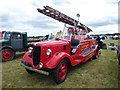 TQ4160 : Historic fire engine at the Biggin Hill Festival of Flight 2017 by Marathon