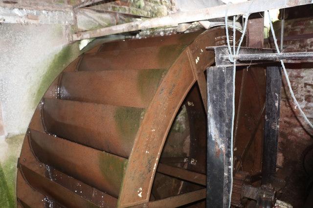 Water wheel, Little Salkeld Mill