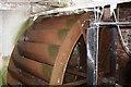 NY5635 : Water wheel, Little Salkeld Mill by Chris Allen
