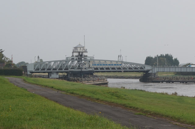 Bridge over the Nene at Sutton Bridge