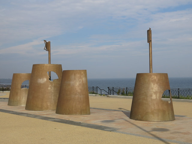 """Sandcastles"", Whitley Bay"
