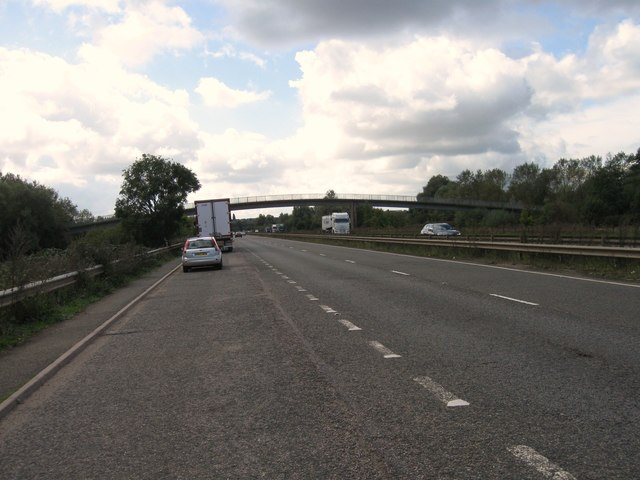 A45 southbound lay-by