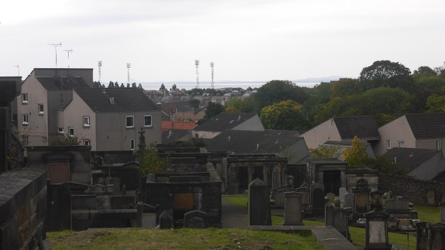 Changing view, New Calton Burial Ground