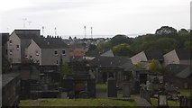 NT2674 : Changing view, New Calton Burial Ground by Richard Webb