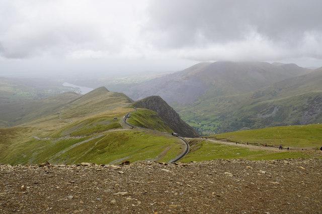 Llanberis Path above Clogwyn