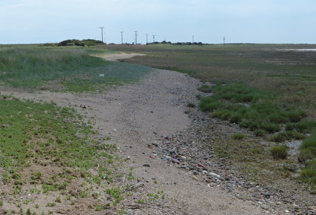 Humber shoreline at Kilnsea Clays