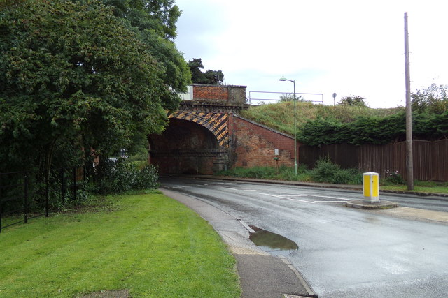 Thurston Station Bridge on New Road