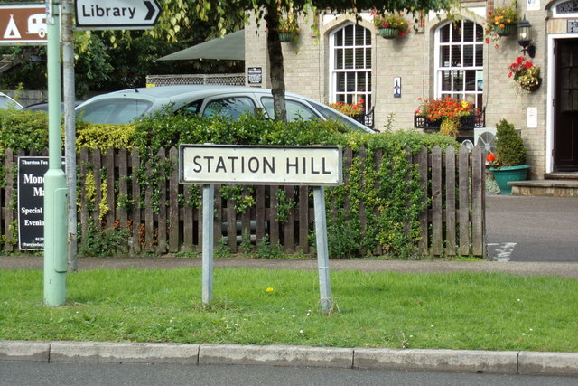 Station Hill sign