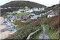 SN2751 : Wales Coast Path down into Tresaith by M J Roscoe